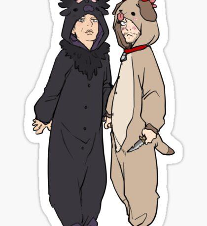 Murder Suits :) Sticker