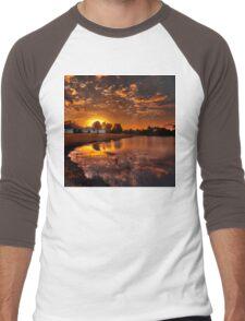 Reflecting sun Men's Baseball ¾ T-Shirt