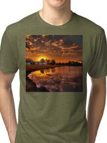 Reflecting sun Tri-blend T-Shirt