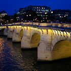 Pont Neuf Bridge - Paris, France by Georgia Mizuleva