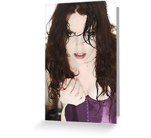 Ghost Orchid Intense Greeting Card