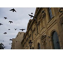 Commotion in the Sky of Paris Photographic Print
