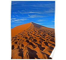 Sand Dune Hiking Poster