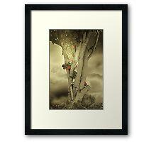 Sometimes Autumn Framed Print