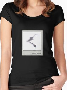 Carpet Python Polaroid Women's Fitted Scoop T-Shirt