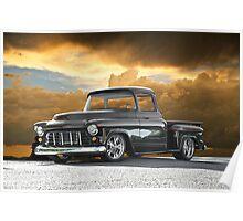 1956 Chevrolet Stepside Pick-Up Truck III Poster