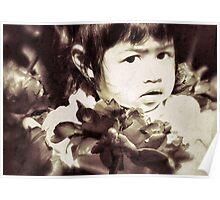 Tulip Child Poster