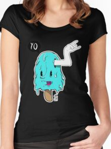 I-scream Women's Fitted Scoop T-Shirt