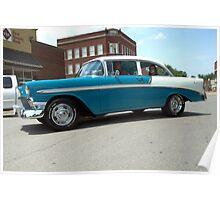1956 Chevrolet BelAir Poster