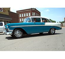 1956 Chevrolet BelAir Photographic Print