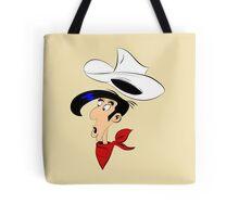 Lucky Luke Shocked Tote Bag