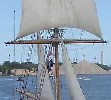 Playfair - Bay City (Michigan) Tall Ships - 2013 by Francis LaLonde