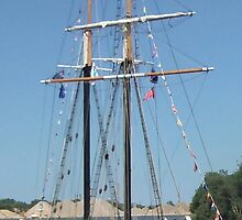 STV Unicorn - Bay City (Michigan) Tall Ships - 2013 by Francis LaLonde