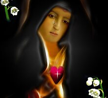 •.¸♥♥¸.MY VERSION REDONE OF THE VIRGIN MOTHER MARY WITH BIBLICAL TEXT•.¸♥♥¸. by ✿✿ Bonita ✿✿ ђєℓℓσ