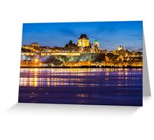 Quebec City Greeting Card