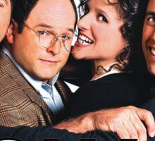 Seinfeld Squad Sticker