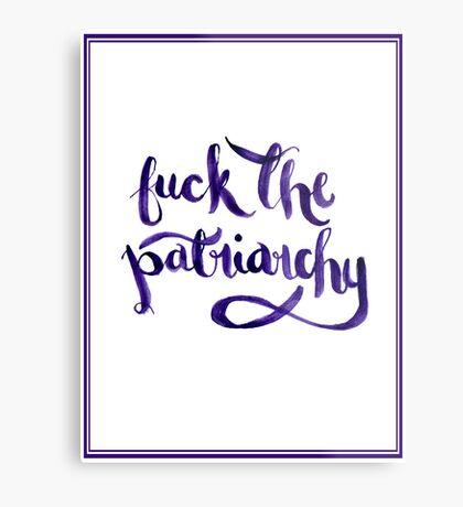 F*ck The Patriarchy (NSFW) Metal Print