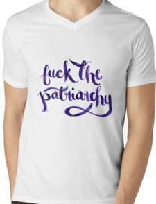 F*ck The Patriarchy (NSFW) Mens V-Neck T-Shirt