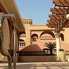 Poolside Doha by SaffronDunne