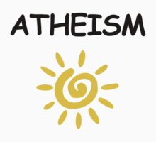 Atheism Comic Sans by jezkemp