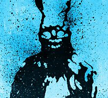 Frank The Bunny splatter  by justin13art