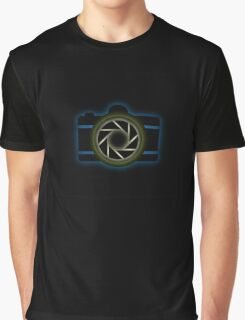 Glowing camera  Graphic T-Shirt