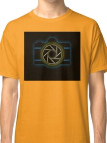 Glowing camera  Classic T-Shirt