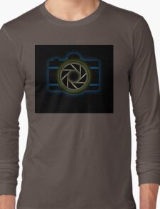 Glowing camera  Long Sleeve T-Shirt