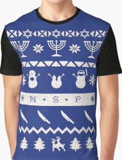 NSP Holiday Sweater Graphic T-Shirt
