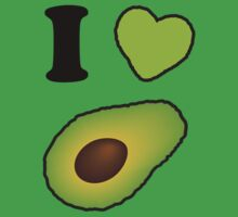 I <3 Avocado Kids Tee