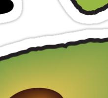 I <3 Avocado Sticker