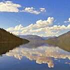 Lake Slocan, British Columbia by Mike Griffiths