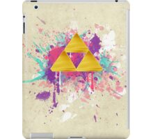 Triforce Splash iPad Case/Skin