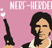 I'll Be Your Scruffy-Looking Nerf-Herder Sticker