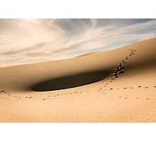 Sand Dunes, Lake Mungo  Photographic Print