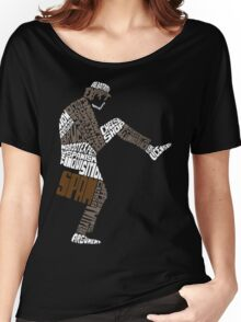 Briefcase Full of Spam (dark bkgd) Women's Relaxed Fit T-Shirt