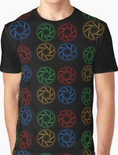 Glowing aperture Graphic T-Shirt