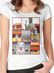 Melbourne temple Women's Fitted Scoop T-Shirt