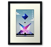 Angel 05: Ramiel Framed Print