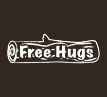 Free Hugs Tree Trunk by MsSLeboeuf