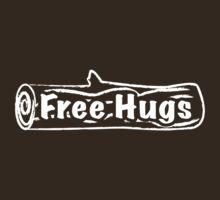 Free Hugs Tree Trunk by MsSLeboeuf