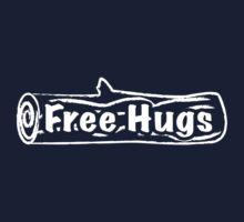 Free Hugs Tree Trunk One Piece - Short Sleeve