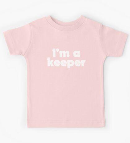 I'm a keeper Kids Tee