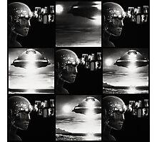 UFO and ESP Photographic Print