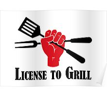 License to Grill Poster