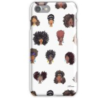 How To Be Curly Allover iPhone Case/Skin