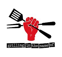 Grilling in the name of Photographic Print