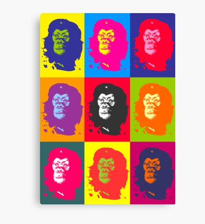 Che Monkeyvara Canvas Print