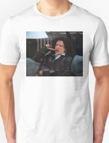 Elaine Smoking a Cigar Unisex T-Shirt