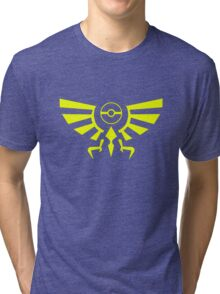 Legend of Pokemon- Crest Tri-blend T-Shirt